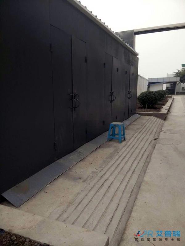 中石油实验室气瓶室建设